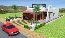 Rosita 2 bedroom Villa La Serena Golf Property
