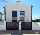 Panorama Villas front view - semi detached villas